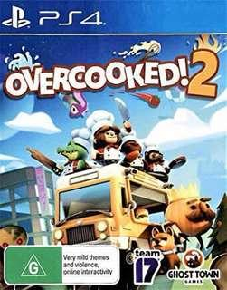 Wanted to Trade/ Sell Brand New PS4 Overcooked! 2