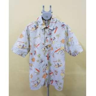 Disney Aloha Hawaiian Shirt, M. (Original)