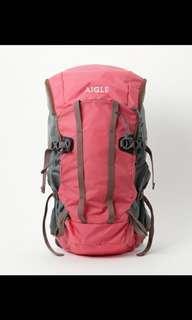 日本🇯🇵Aigle 背包 背囊 Backpack 28L with raincoat 旅行背包