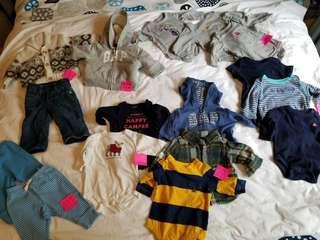 Baby Gap. Fall winter size 0-3mth. All purchased New. All size 0-3mths. First pickup. Main and Gerrard or Yorkville. Ad will be removed once sold. Prices as shown. $5 and up. Or see.my other ads for more details. This whole lot retails for $389.