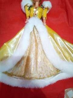 Vintage Barbie doll Gown