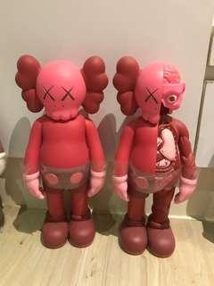 KAWS COMPANION OPEN EDITION RED BLUSH 限定 全紅 公仔