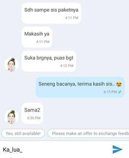 WE ARE TRUSTED OLSHOP