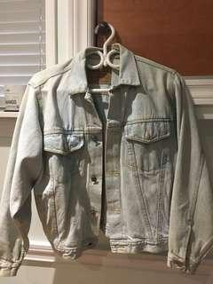 Oversized Light Jean Jacket