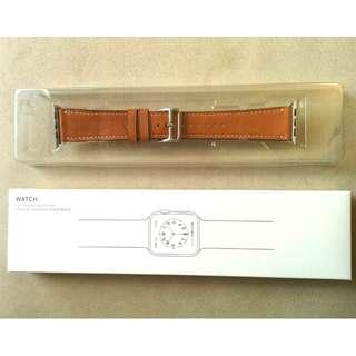 [Free Shipping 包郵] Apple Watch 42mm Genuine Leather Strap