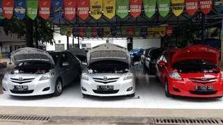 Vios limo 2012 free upgrade dp murah