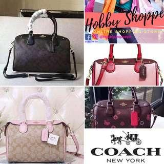 Brand New: Original Coach Doctor's Bag, Mini Benette (US)