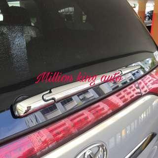 Toyota Estima back wiper garnish