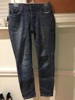 Low rise Gap skinny jeans