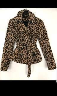 Beautiful Leopard Print Jacket By Koton