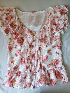 Liz Lisa flower top