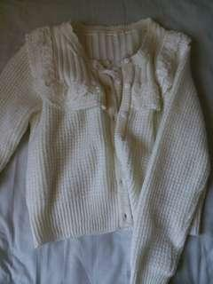 Liz Lisa style Teddy Bear Storybook Cardigan