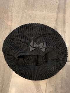 H&M Bow Beret Hat