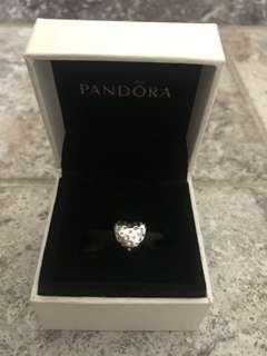 Pandora Heart with Diamonds Charm