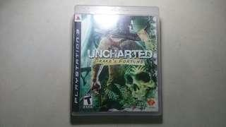 Unchartered Drake's fortune PS3 Game Games