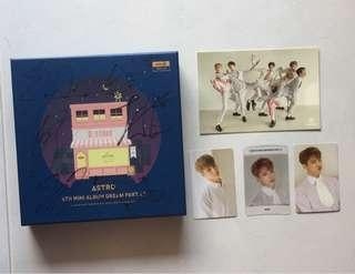 [SOLD] ASTRO Dream part 1 night version with Rocky photocard set