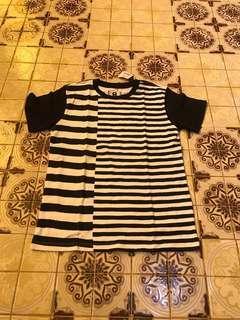 stripe off tshirt