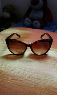 Cateye Sunglasses for Women (Brown Animal Print)
