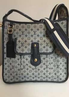 LOUIS VUITTON MINI LIN MARY KATE CANVAS CROSSBODY