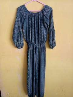 Jumpsuit tribal from bali