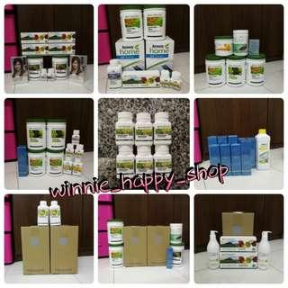 Amway nutrilite protein double x bodykey body key glucosamine 7 green trime phytopowder tropical herbs artistry espring satinique g&h home