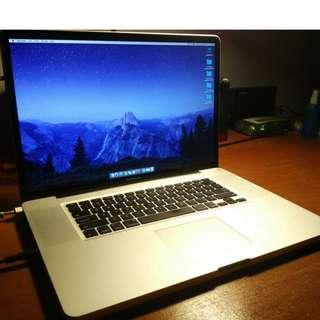 Macbook pro 2009 (17inch)