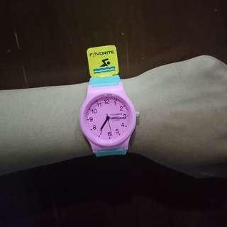 look a like qnq jam tangan new