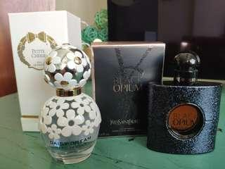 YSL BLACK OPIUM PARFUM / ANNICK GOUTAL PETITE CHERIE / MJ Daisy  Dream