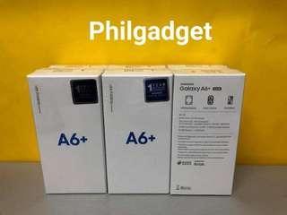 SAMSUNG A6 PLUS BRAND NEW DUAL