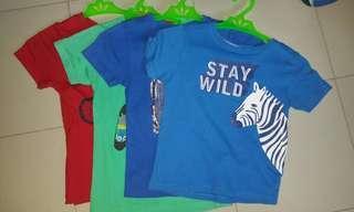 Bundle boy shirts