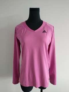 Adidas pink active wear top