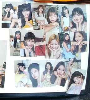 [incoming instock] Twice Once Halloween Photocards