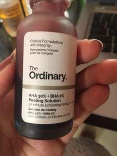 The ordinary AHA BHA