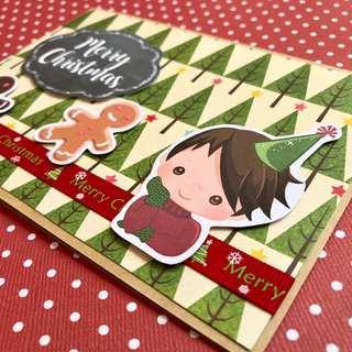 🚚 Christmas Card - Gingerbread Men