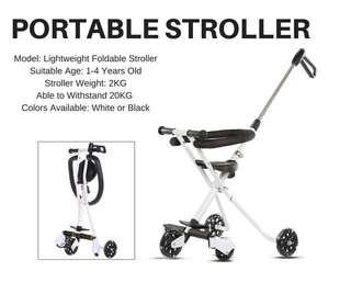 [Limited Stock] Foldable Stroller tricycle bicycle