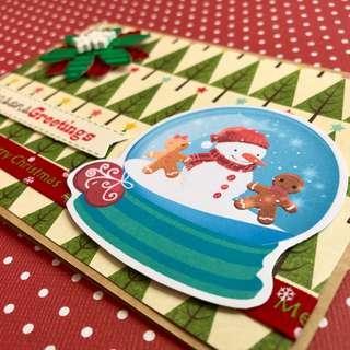 🚚 Christmas Card - Snowman