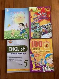P5/P6 English / Chinese Model Compositions