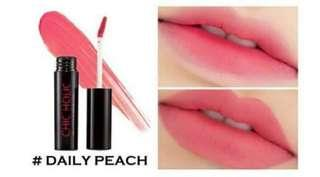 Chic Holic Lip Lacquer #DailyPeach