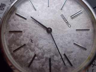 Vintage Seiko manual winding watch japan