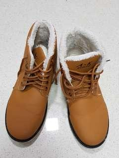 Cold weather boots.