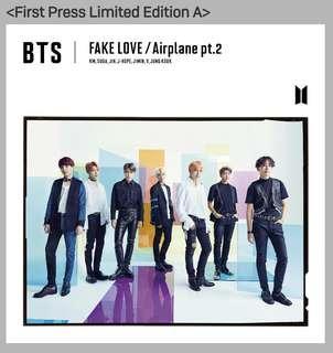 BTS JAPAN FAKE LOVE/AIRPLANE PT 2