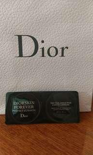 Diorsnow perfection cushion foundation粉底液