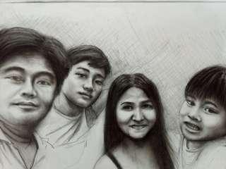 Realistic Sketch Portrait
