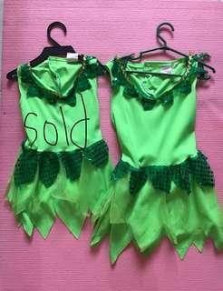 1yo & 2yo Tinkerbell costume