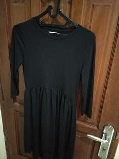 Zara Black short dress