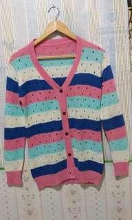 Cardy rainbow ( knit )