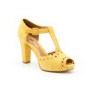 Clarks Softwear Dollar Craze in Yellow