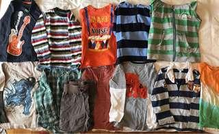 Bundle of 3 yr boys long sleeved T shirts