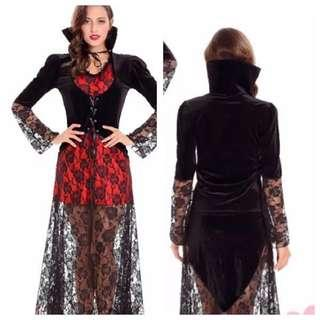 IN STOCK Female adult vampire costume Dracula costume dress Halloween costume Cosplay party Dnd costume
