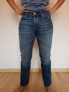 AG Adriano Goldschmied premiere skinny straight women jeans.